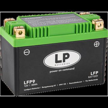 Acumulator Moto LandPort Li-Ion 12V 36 Wh 180A LFP9-big