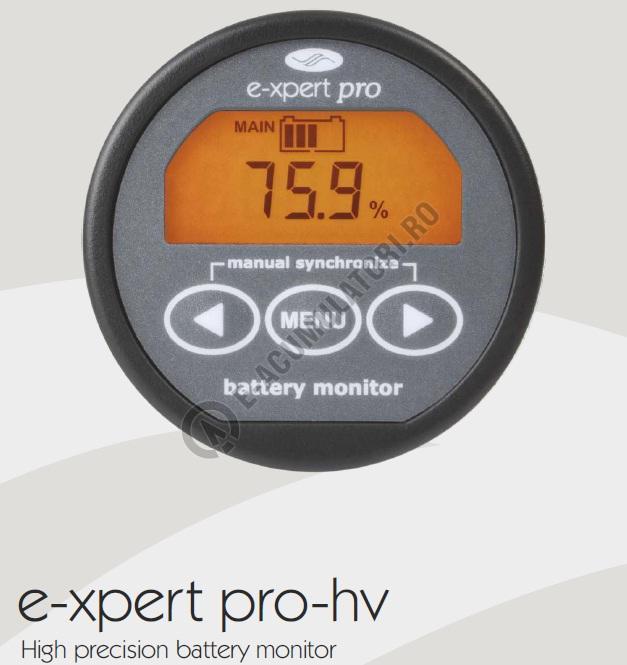 Minicalculator setare stare baterie TBS E-Xpert PRO-HV-big