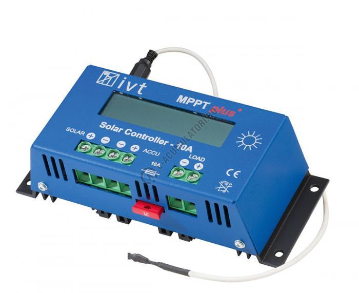 MPPTplus IVT controller solar 10A cod 200035-big