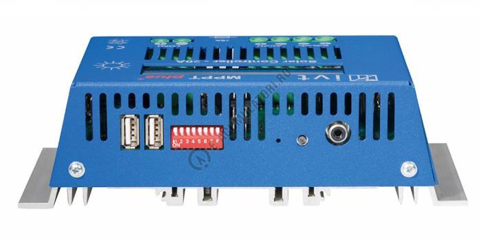 MPPTplus IVT controler solar 20A cod 200036-big