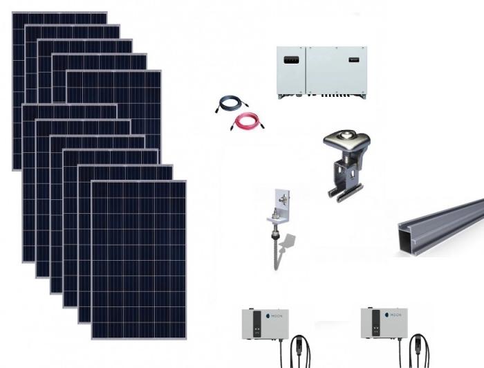 Pachet Sistem on-grid 50kWp Huawei + 2 x Statie incarcare rapida Moon 25kW-big