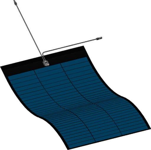 Panou fotovoltaic flexibil MiaSole, seria FLEX-M, 240Wp-big