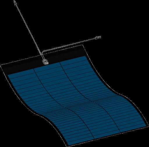Panou fotovoltaic flexibil MiaSole, seria FLEX-M, 380Wp-big