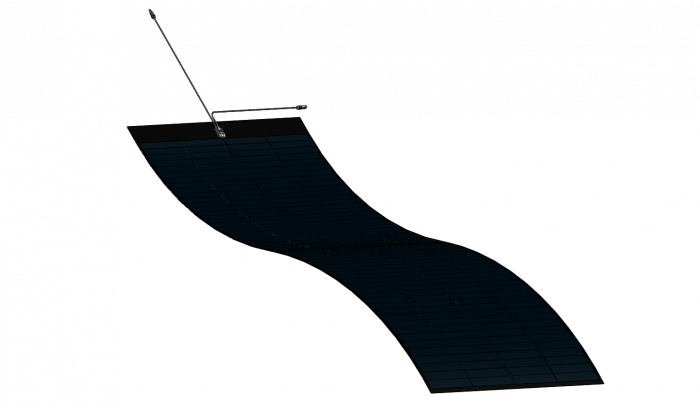 Panou fotovoltaic flexibil MiaSole, seria FLEX-W, 560Wp-big