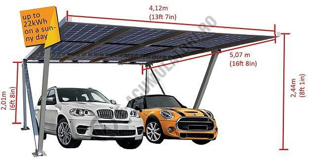 Parcare fotovoltaica Carport XL, 3.24 kWp-big