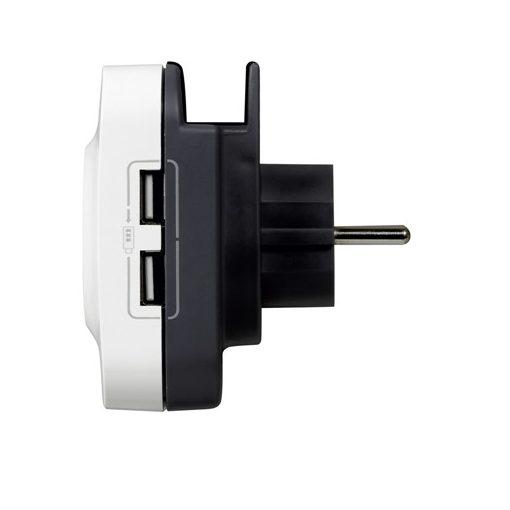Priza de curent + doua incarcatoare USB integrate 694671-big