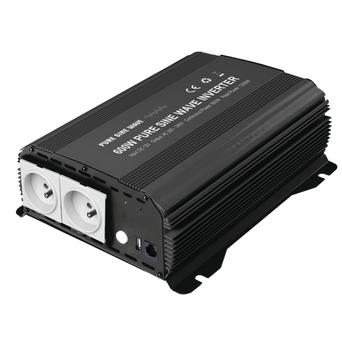 Invertor Unda Pura 600W GYS 12V PSW 600W-12 027275-big