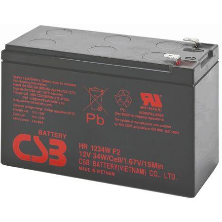 Acumulator UPS CSB HR1234W F2, 12V, 9Ah-big