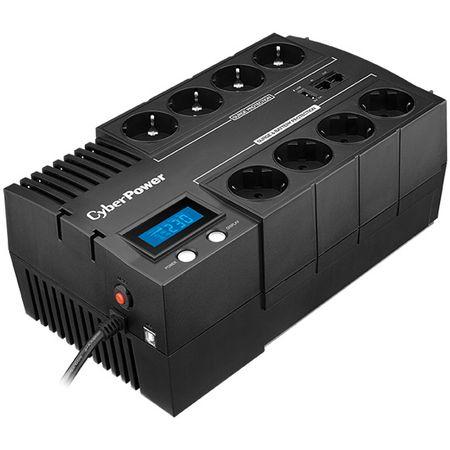 UPS CyberPower BR1200ELCD, 1200VA, 720W, Display LCD, Schuko, USB, RJ11, RJ45, Line-interactive-big
