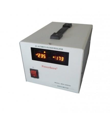 Stabilizator cu servomotor 2000VA /1600W Power Sistem MSER-2000-big