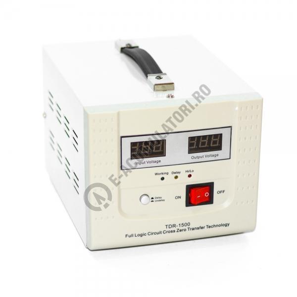 Stabilizator cu transformator 1500VA/900W Power Sistem TDR1500-big