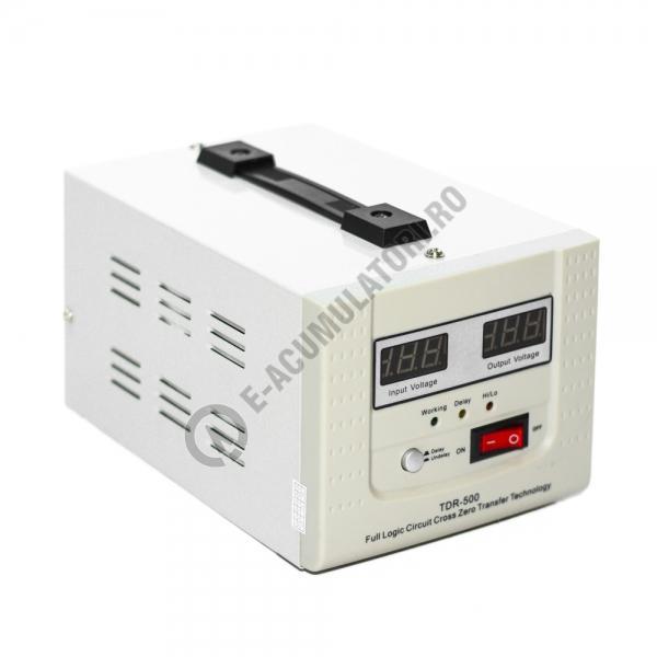 Stabilizator cu transformator 500VA/300W Power Sistem TDR500-big