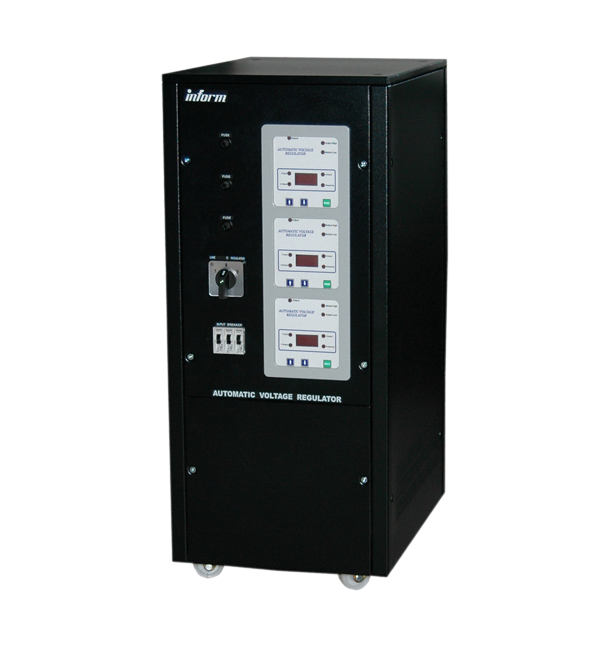Stabilizator Inform AVR Digital Display 22,5KVA 3PH STD RANGE WITH BREAKER-big