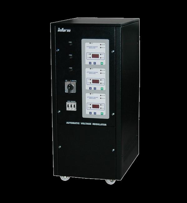 Stabilizator Inform AVR Digital Display 6KVA 3PH STD RANGE W/O BREAKER-big