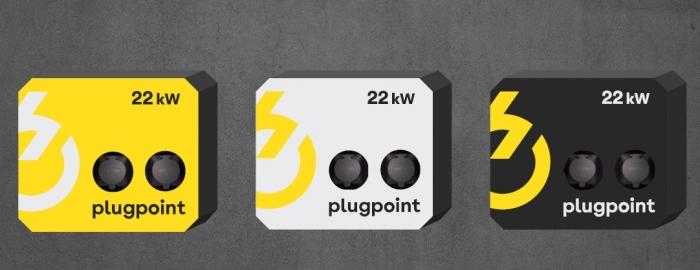 Statie de incarcare Plugpoint Wallbox 22kW dubla-big