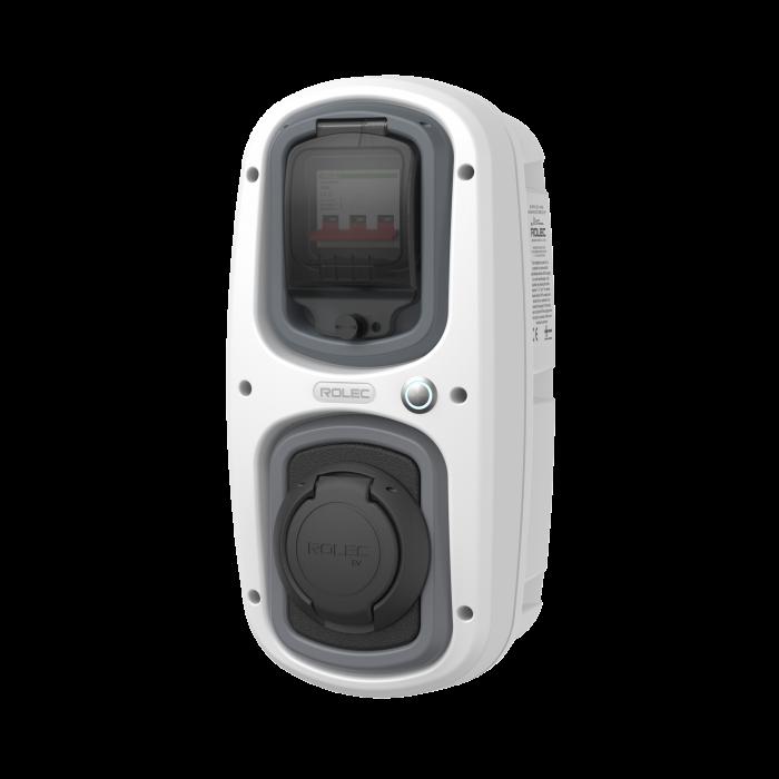 Statie incarcare auto Rolec WallPod SuperFast, 32A, 22kW, trifazata, Socket Tip 2-big