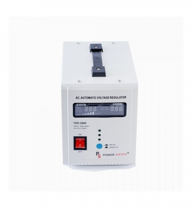 Stabilizator de tensiune 2000VA/1200W Power Sistem TER2000-big
