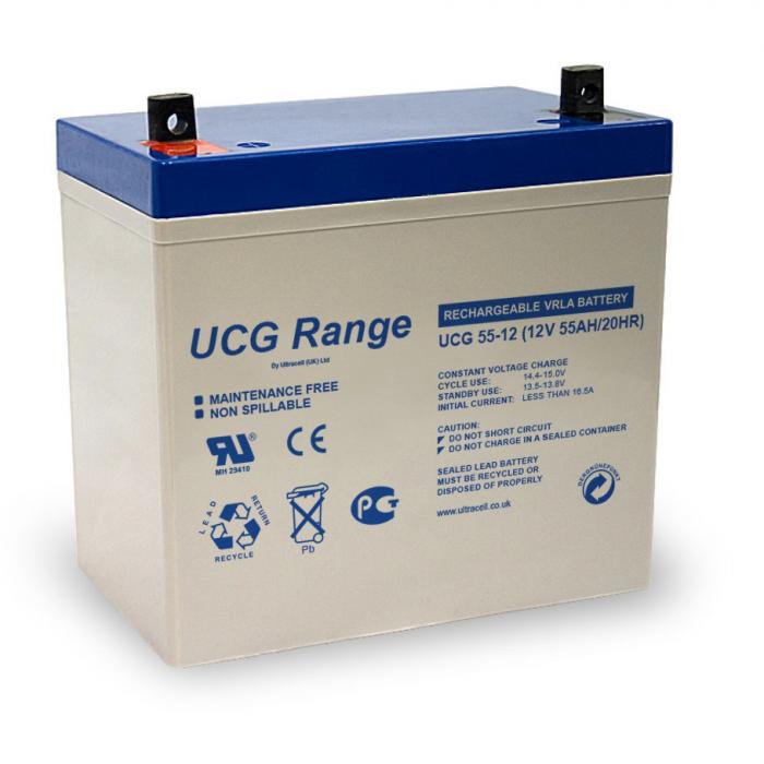 Pachet UPS Kemot Pur Sinus 1600W + Acumulator Ultracell GEL 55 Ah recomandat centrale termice-big