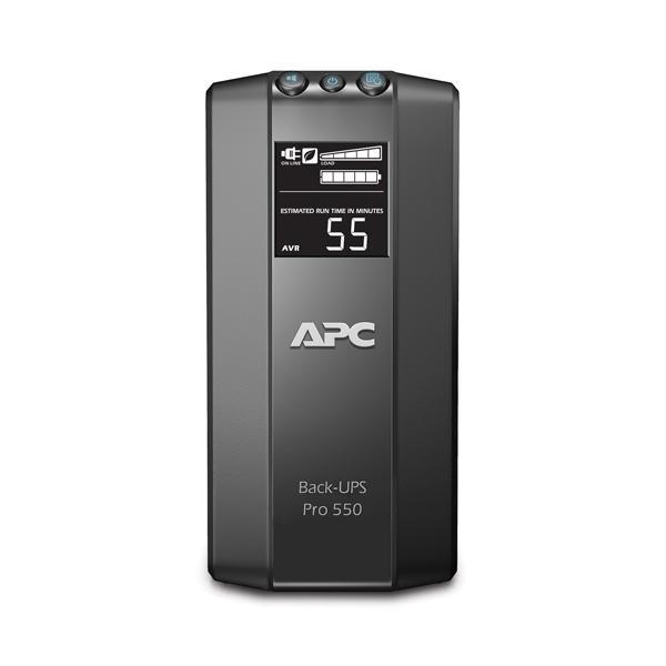 UPS APC Power-Saving Back-UPS Pro 550VA/330W, LCD Display BR550GI-big
