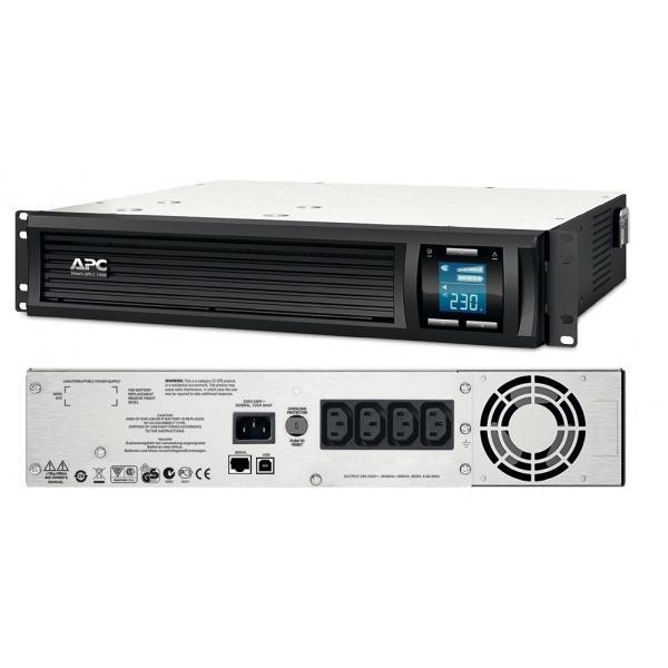 UPS APC Smart-UPS C 1000VA 2U Rack SMC1000I-2U-big