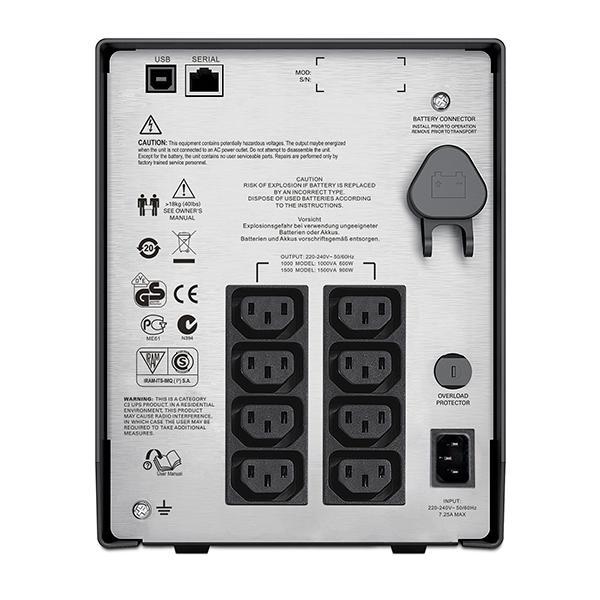 UPS APC Smart-UPS C 1000VA LCD 230V SMC1000I-big
