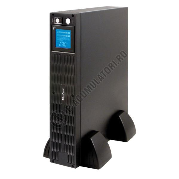UPS Rackabil Cyber Power PR1500ELCDRTXL2U Line-Interactive 1500VA 1250W AVR, LCD Display, 10 IEC OUTLETS, USB & Serial port-big