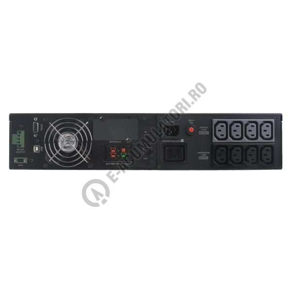 UPS Rackabil Cyber Power Professional SmartApp ON-Line Rack Mount OL2000ERTXL2U 2000VA 1800W-big