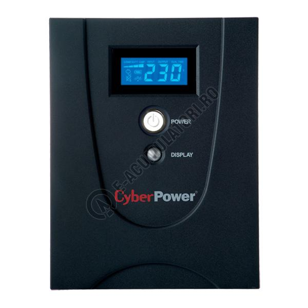 UPS Cyber Power VALUE1200EILCD Line-Interactive 1200VA 720W AVR, LCD Display, 6 x IEC outlets, USB & Serial port-big