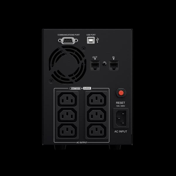 UPS Cyber Power VALUE2200EILCD Line-Interactive 2200VA 1320W AVR, LCD Display, 6 x IEC outlets, USB & Serial port-big