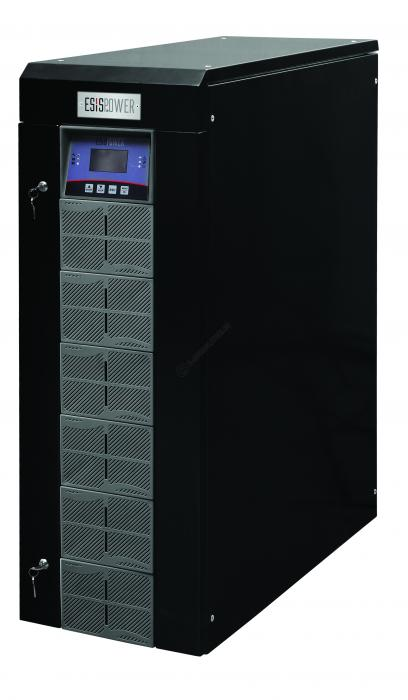 UPS Esispower ATLAS 5010 Model 10kVA 3-3 Phase 60x12v/7ah-big
