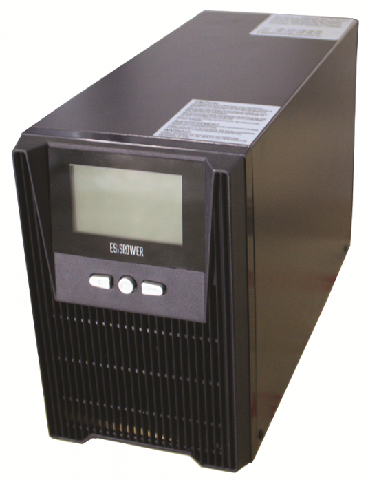UPS Esispower EGE 102 Model 2kVA 1-1 Phase 6x12v/18ah-big