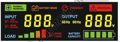 UPS pentru Centrala Termica Power Sistem Sinus HD 2000VA 1500W 24V-big