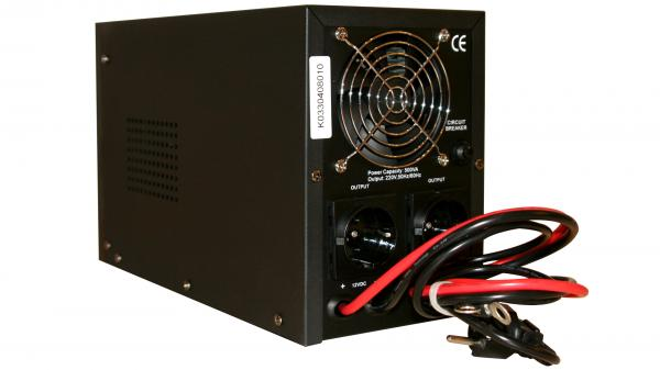UPS pt Centrala Termica 500VA Sinus HD 400w Power Sistem + Acum. Rombat EFB 12 V 65 Ah-big