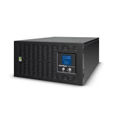 UPS Rackabil Cyber Power PR6000ELCDRTXL5U Line-Interactive 6000VA 4500W AVR, LCD Display, 11 IEC OUTLETS, USB & Serial port-big