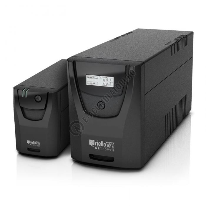 UPS Riello Net Power NPW 1000 Line Interactive 1000VA 600W-big