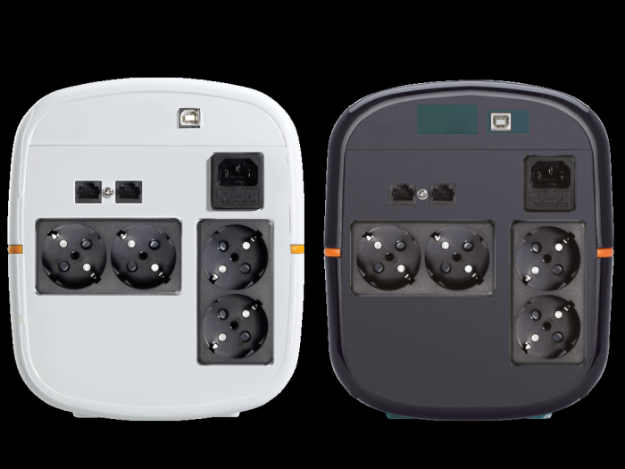UPS Tuncmatik Digitech Pro 1000VA Line-interactive,black schuko TSK1579-big