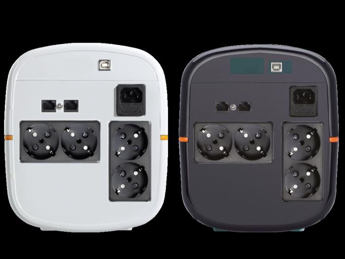 UPS Tuncmatik Digitech Pro 1200VA Line-interactive,black schuko TSK1581-big