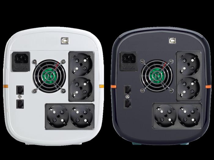 UPS Tuncmatik Digitech Pro 2200VA Line-interactive,white schuko TSK1654-big
