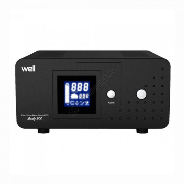 UPS Well pentru CENTRALE TERMICE Steady 500VA, UPS-HEATST-STEADY500-WL-big