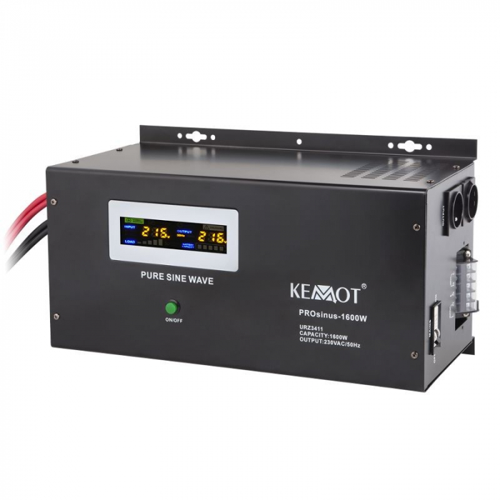 Pachet UPS Kemot Pur Sinus 1600W + Acumulator Ultracell GEL 150 Ah recomandat centrale termice-big