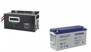 Pachet UPS Kemot Pur Sinus 1600W + Acumulator Ultracell GEL 150 Ah recomandat centrale termice0