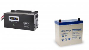 Pachet UPS Kemot Pur Sinus 1600W + Acumulator Ultracell GEL 55 Ah recomandat centrale termice0