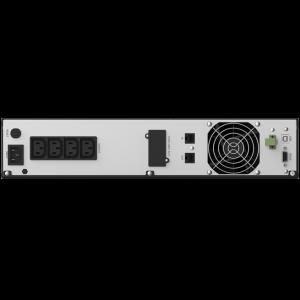 UPS nJoy Argus 2200, 2200VA/1320W, LCD Display, 4 IEC C13 cu Protectie, Management, rack 2U3