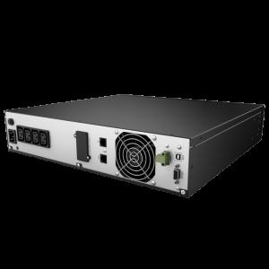 UPS nJoy Argus 2200, 2200VA/1320W, LCD Display, 4 IEC C13 cu Protectie, Management, rack 2U4