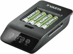Incarcator Varta LCD Smart Charger+ 57684 AAA, AA + 4 Acumulatori AA Varta Power 2100mah1