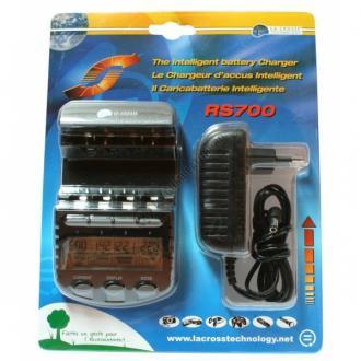 Incarcator inteligent R6 R3 LaCrosse multifunctional RS700-BLI AA/AAA3