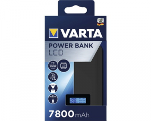 Powerbank Varta LCD Li-Ion 7800mAh antracit 579700