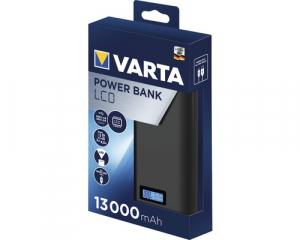 Powerbank Varta LCD Li-Ion 13000mAh antracit 579712