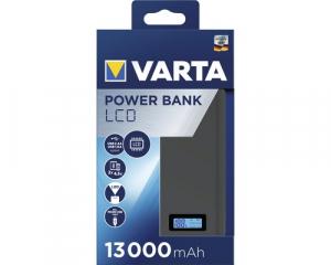 Powerbank Varta LCD Li-Ion 13000mAh antracit 579710