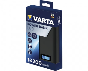 Powerbank Varta LCD Li-Ion 18200mAh antracit 579722